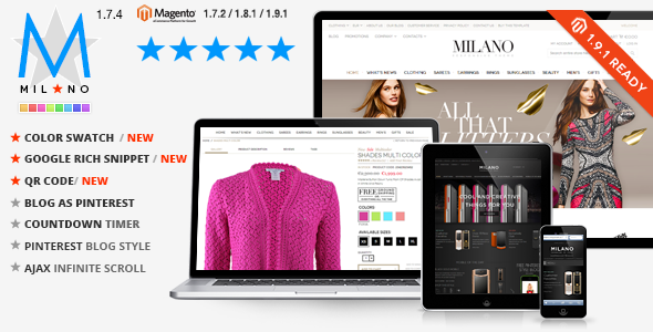 2016's Best Selling Magento Themes | DGTThemes