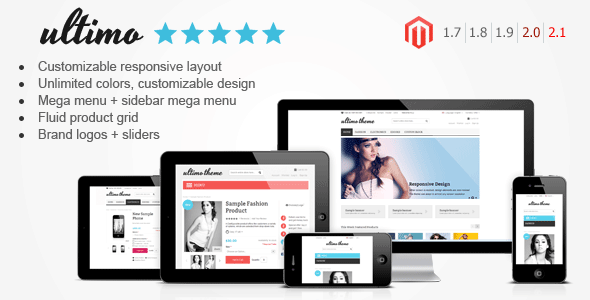 2016's Best Selling Magento Themes