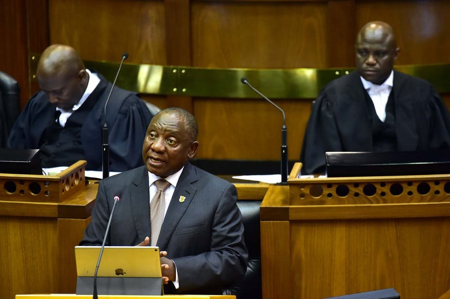 Data shows South Africans will welcome Ramaphosa's tough talk on corruption