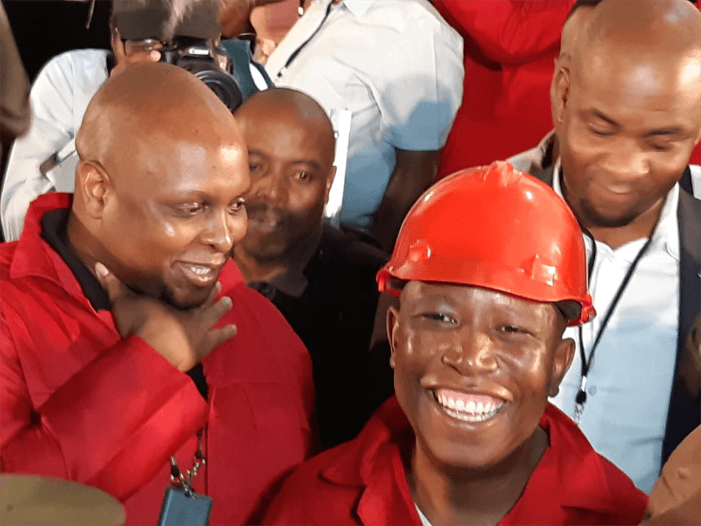 Malema accused of assaulting female officer at SONA – report
