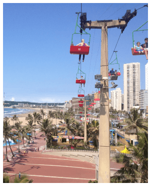 Man dies after cable car fall in Durban